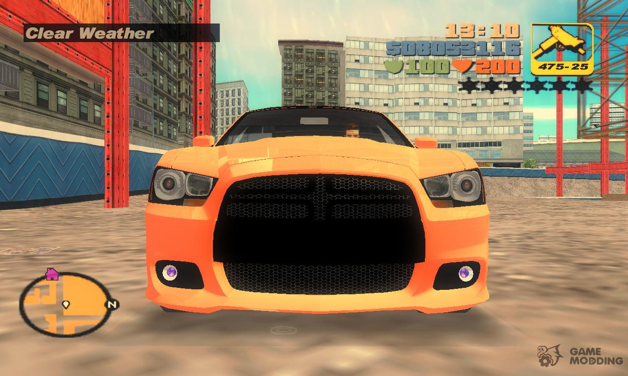 Dodge Charger Juiced Quot Tt Black Revel Quot For Gta 3