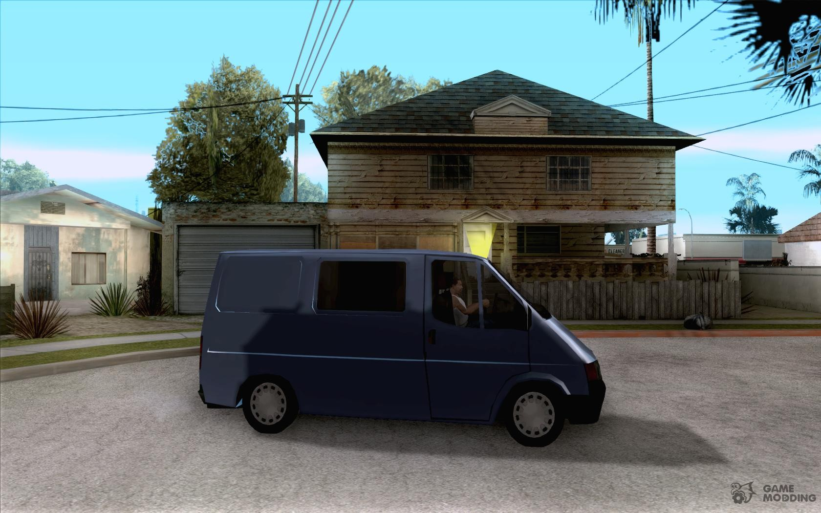 Ford transit 1999 for gta san andreas inside view
