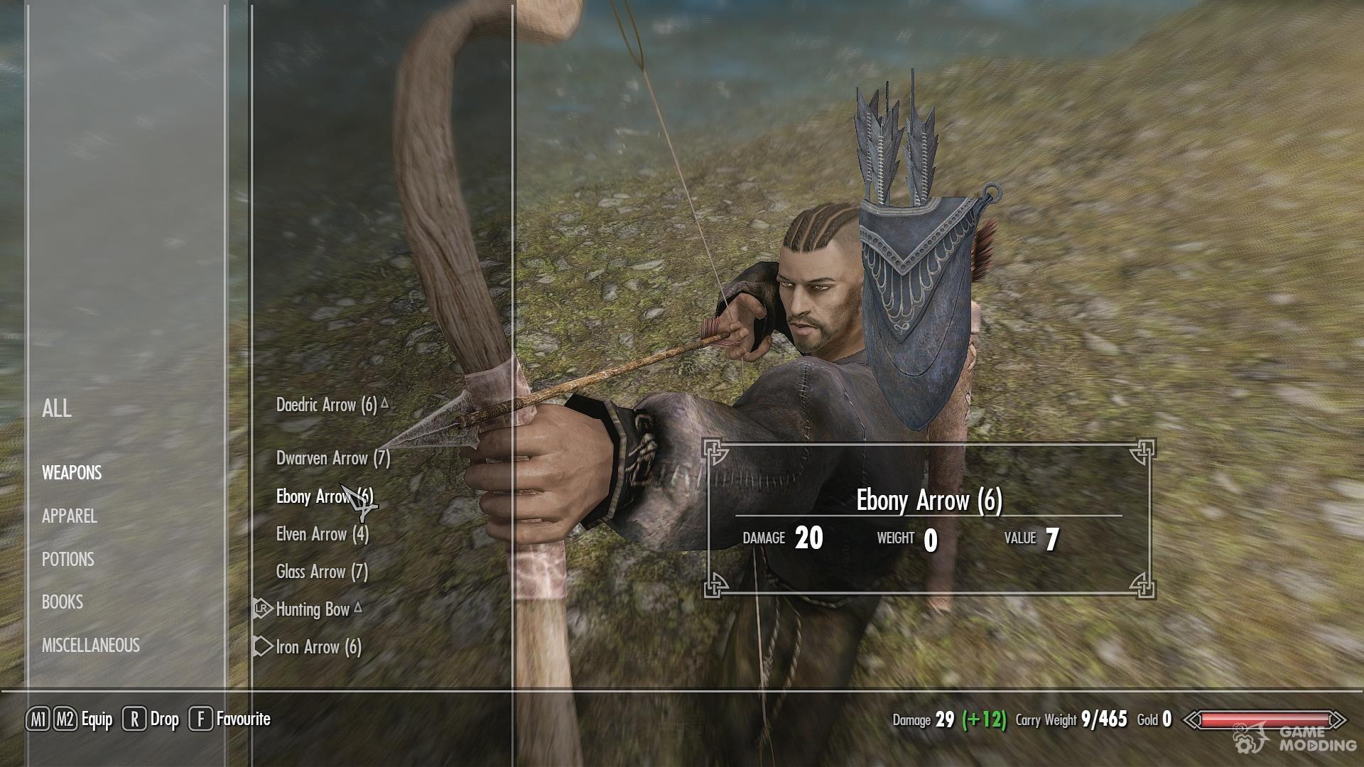 Skyrim Mod Crafting Arrows
