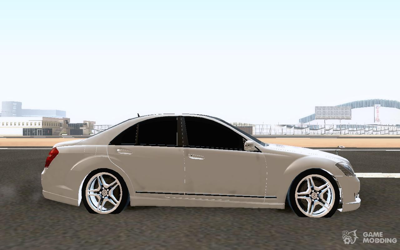 Mercedes benz s65 amg 2011 for gta san andreas for Mercedes benz s65