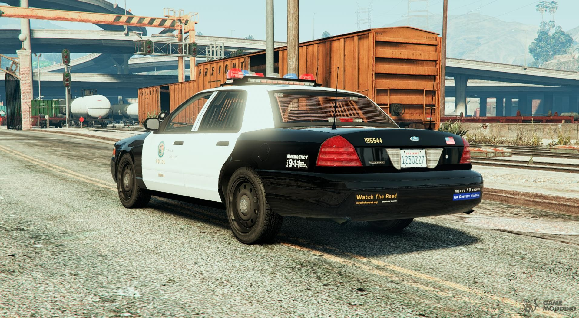 Police crown victoria federal signal vector for gta 5 police crown victoria federal signal vector for gta 5 left view aloadofball Gallery