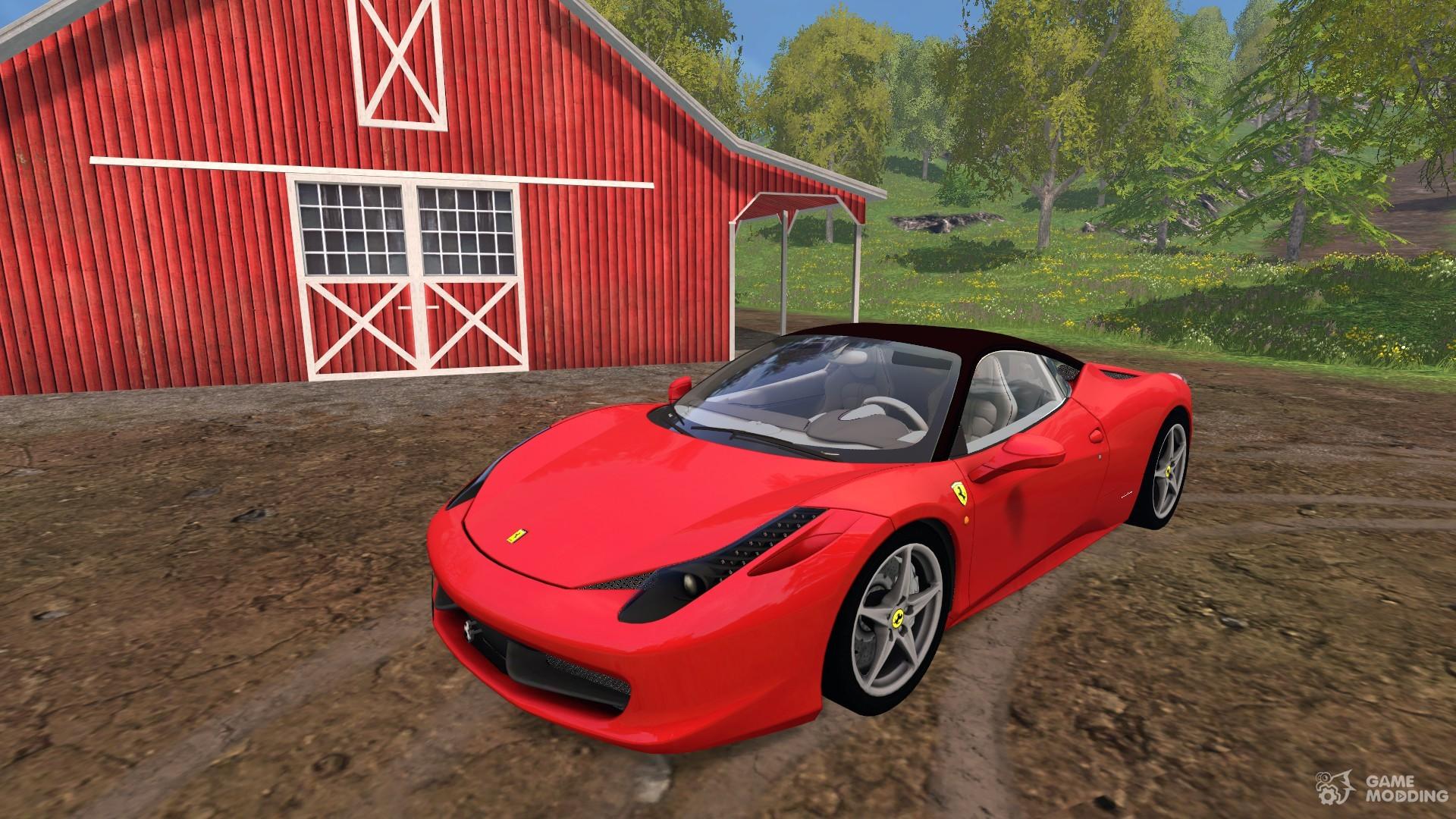 ferrari 458 italia for farming simulator 2015. Black Bedroom Furniture Sets. Home Design Ideas