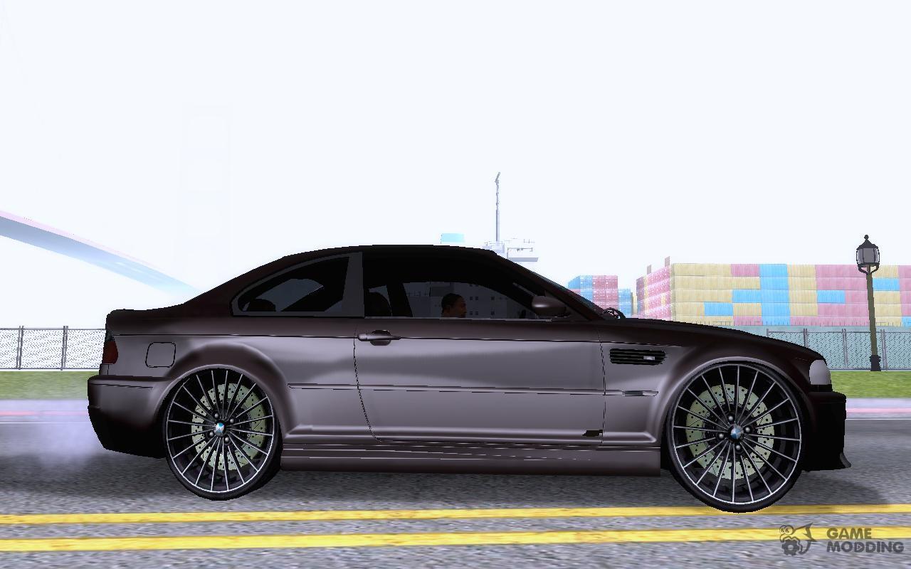 BMW M3 E46 Custom for GTA San Andreas
