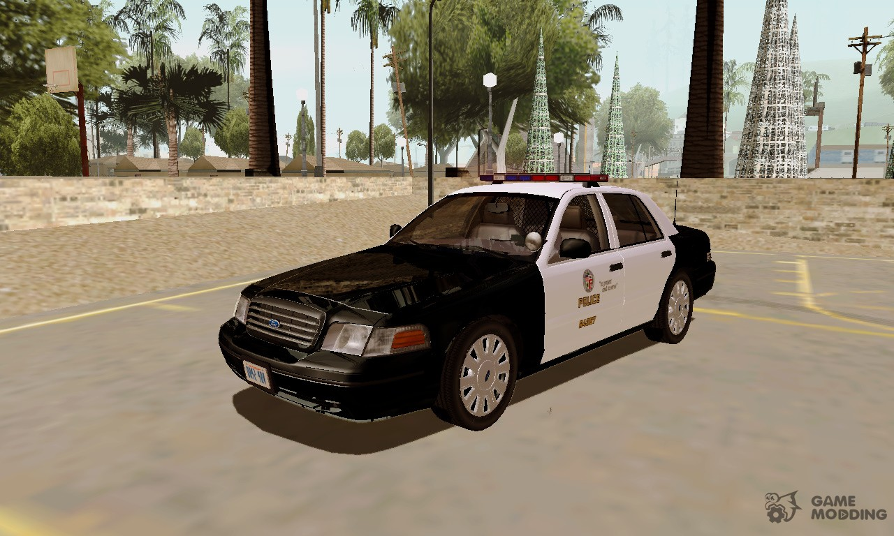 LAPD Ford Crown Victoria for GTA San Andreas Gta San Andreas Police Cars
