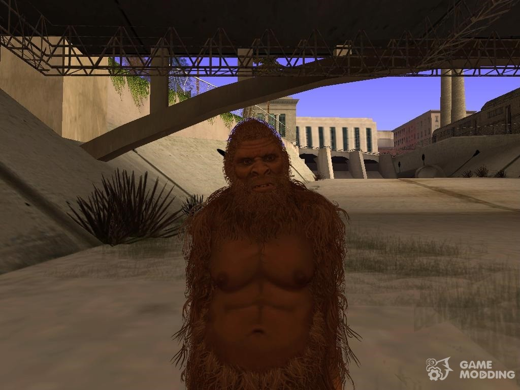 Image result for san andreas bigfoot