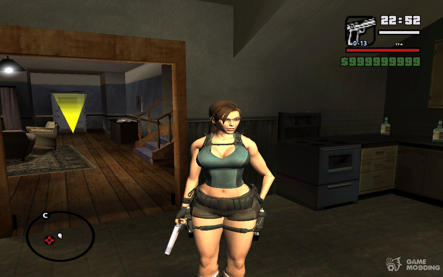 Sexy Lara Croft Big Boobs For Gta San Andreas-3731