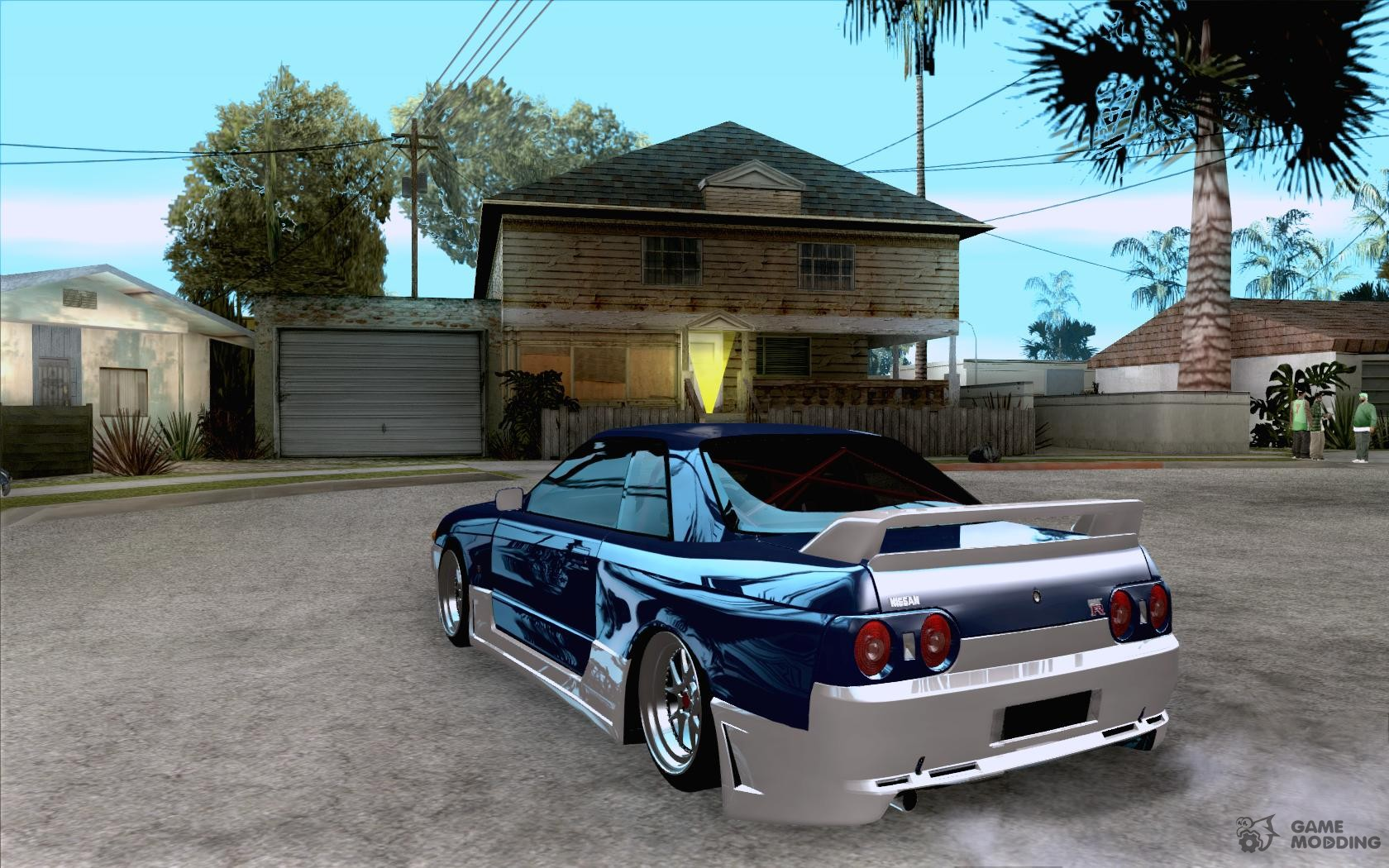 Nissan Skyline Drift Car Tuning For Gta San Andreas