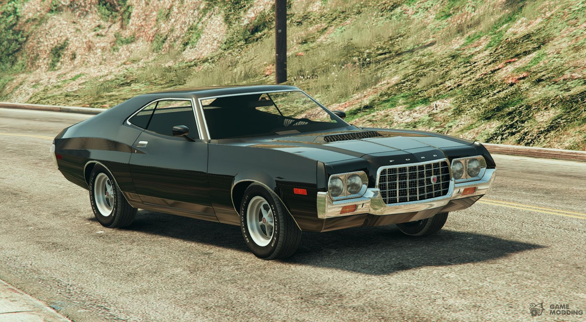 1972 ford gran torino sport beta for gta 5. Black Bedroom Furniture Sets. Home Design Ideas