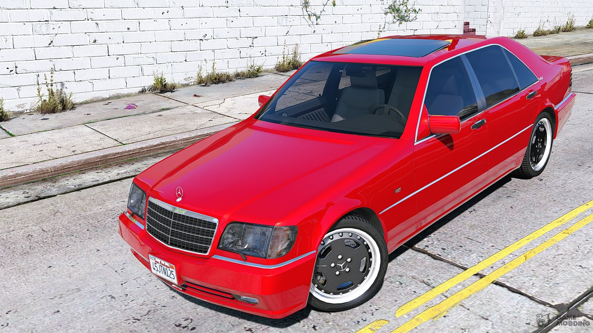 Mercedes Benz Amg W140 2 0 For Gta 5
