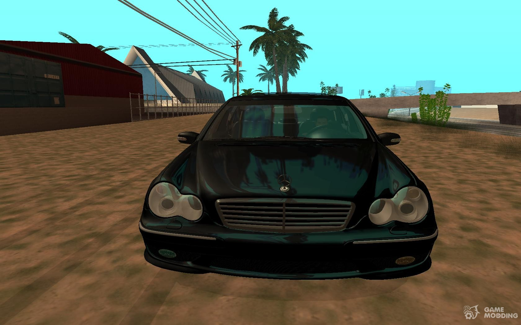 Mercedes benz c32 amg vossen v1 0 2004 for gta san andreas inside view
