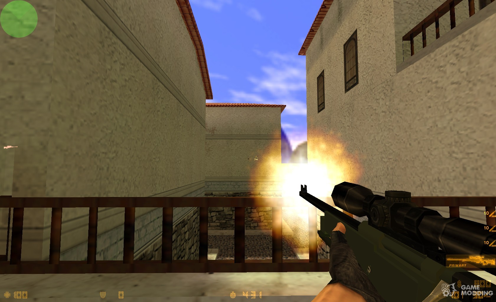 Awp Re-Color(Re-upload) for Counter-Strike 1.6 left view