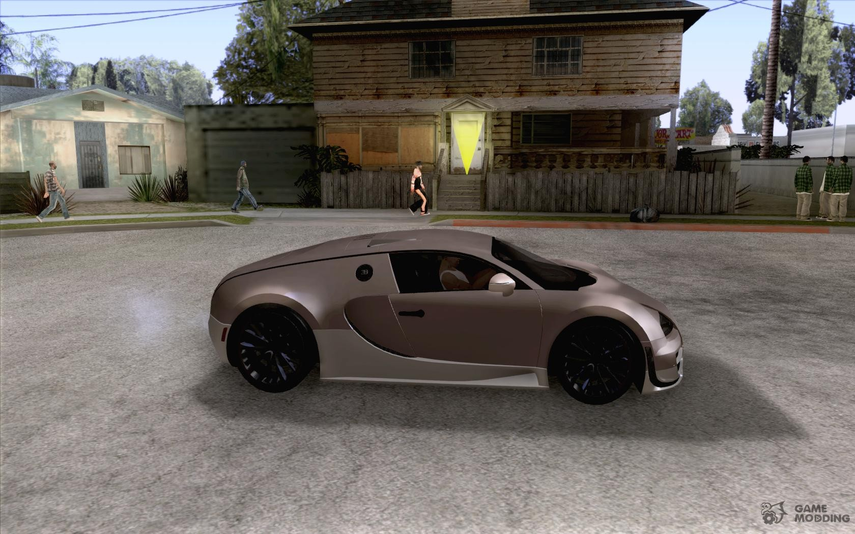 bugatti veyron for gta san andreas. Black Bedroom Furniture Sets. Home Design Ideas