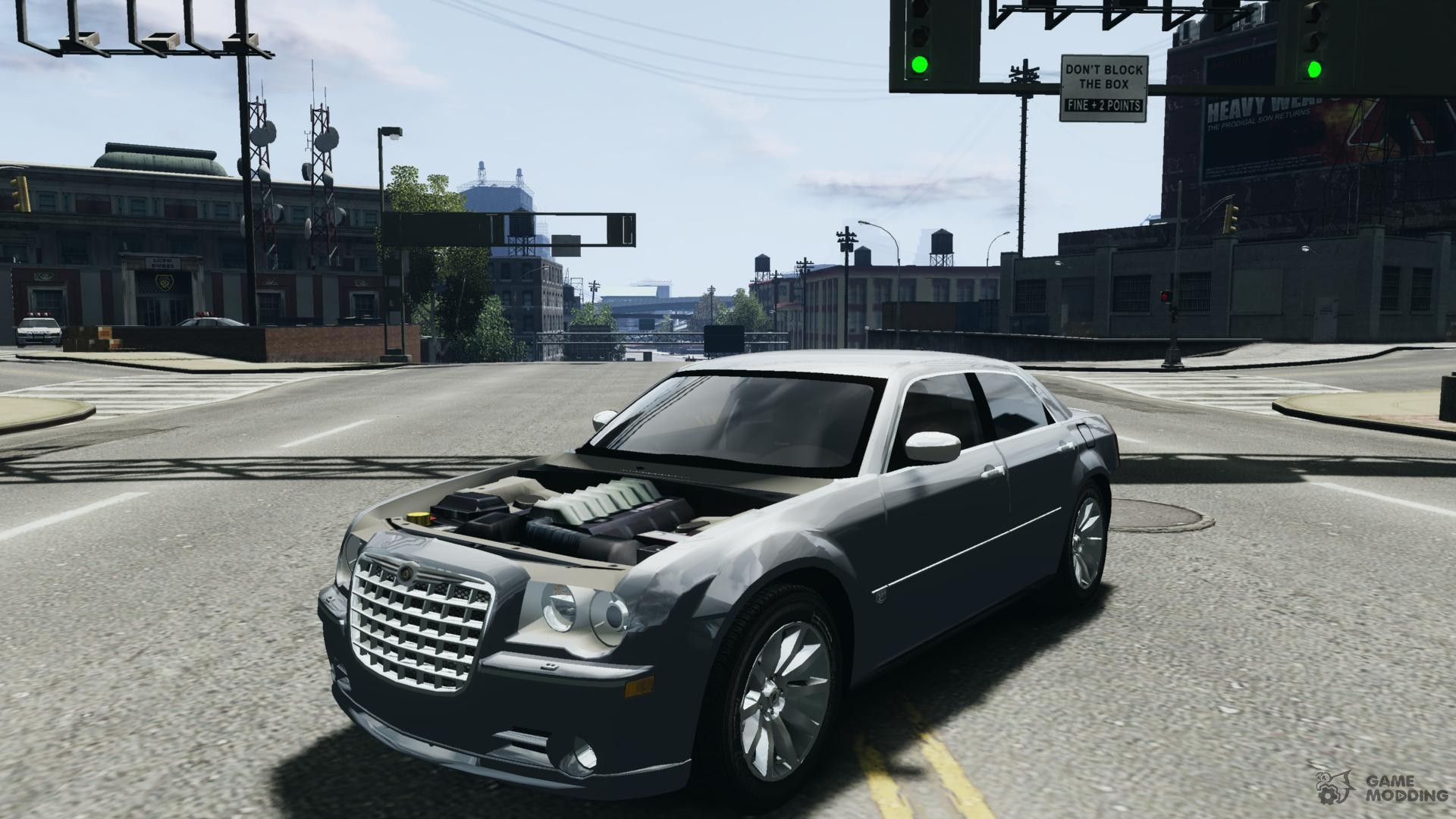 chrysler 300 c srt8 car tuning for gta 4. Black Bedroom Furniture Sets. Home Design Ideas