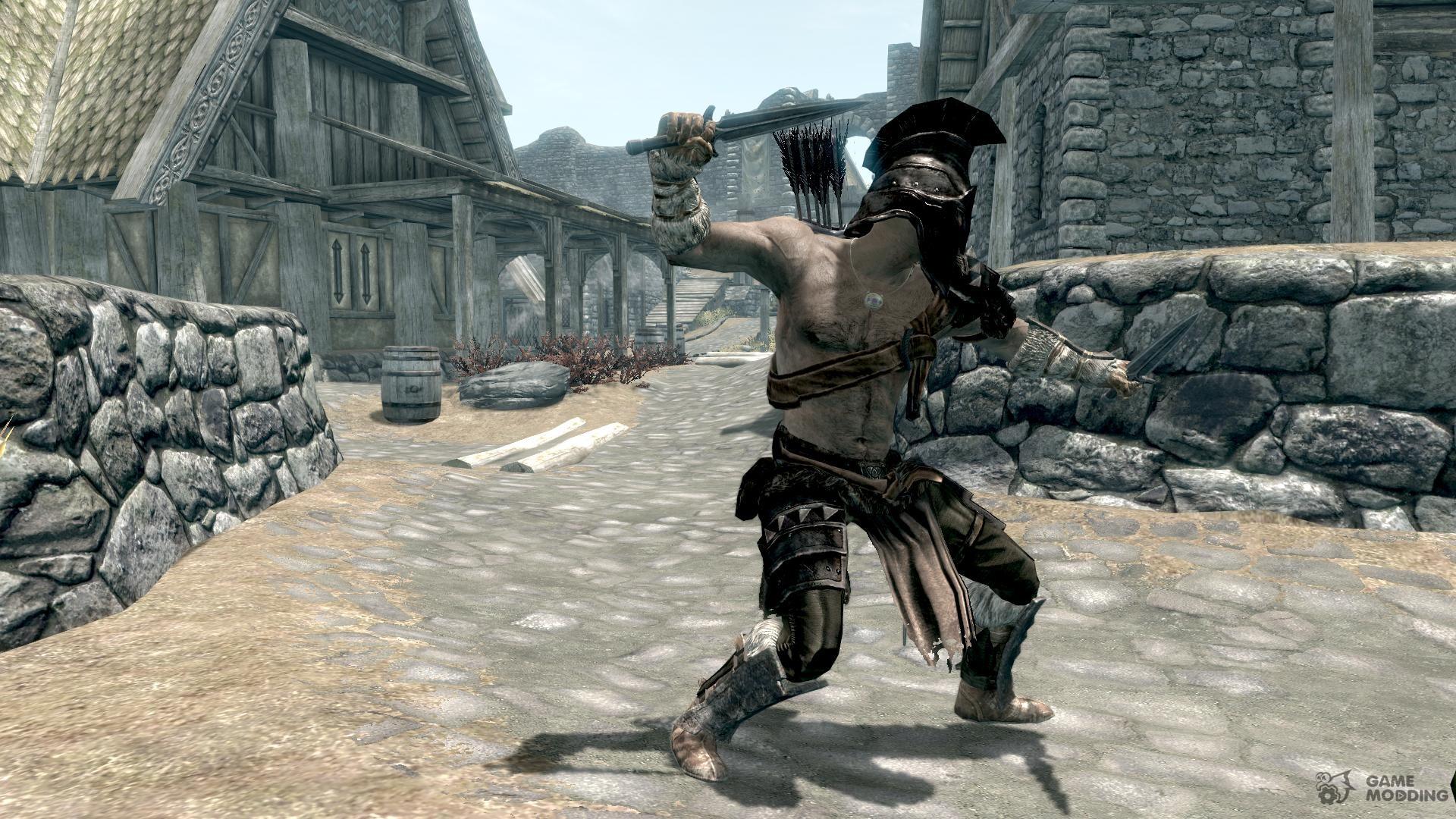 Skyrim the gladiator ii