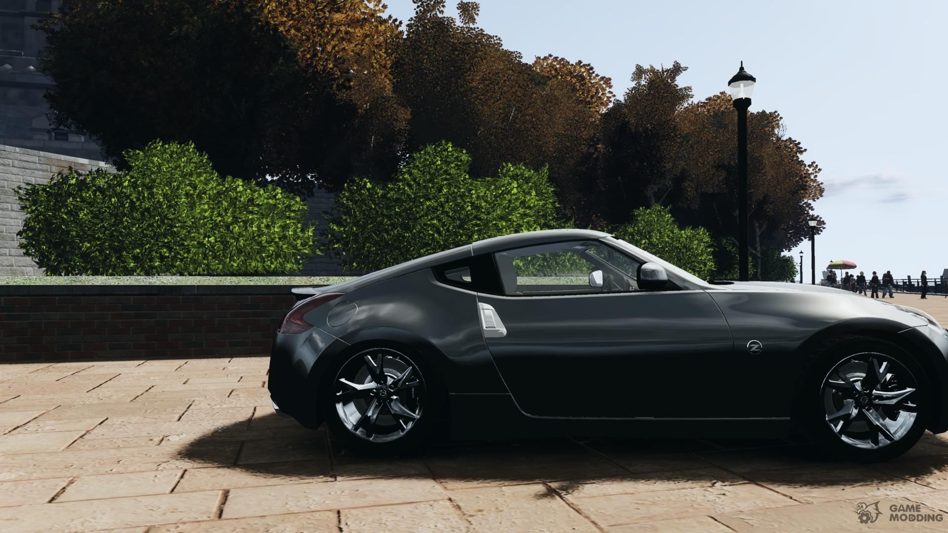 2010 nissan 370z coupe for gta 4. Black Bedroom Furniture Sets. Home Design Ideas