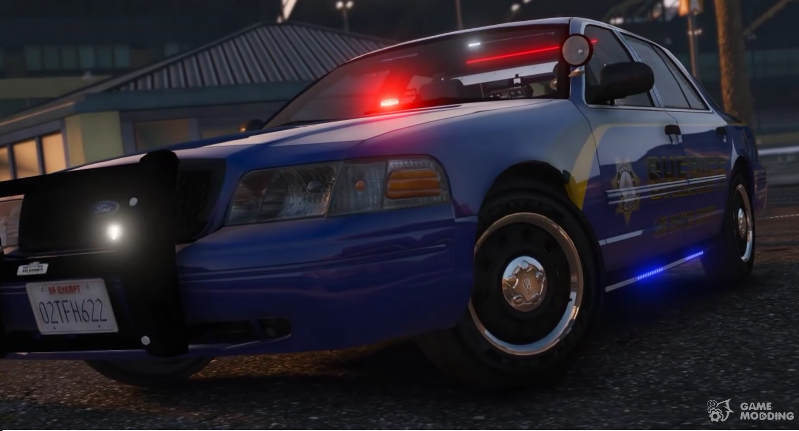 Ford crown victoria Los Santos County Sheriff for GTA 5