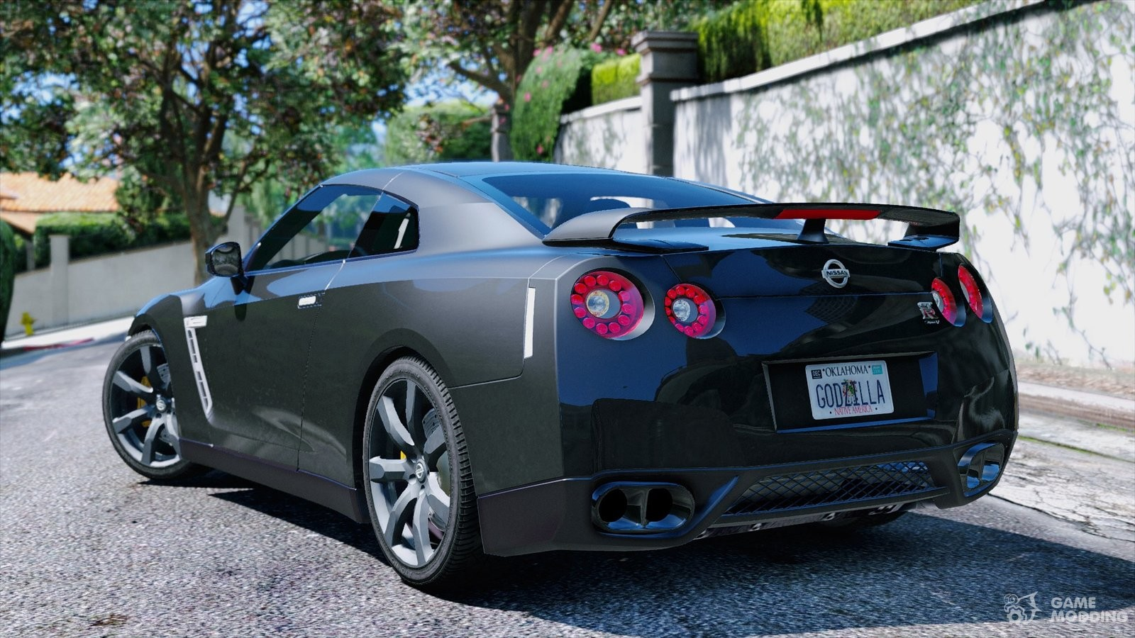 nissan gt r r35 for gta 5. Black Bedroom Furniture Sets. Home Design Ideas