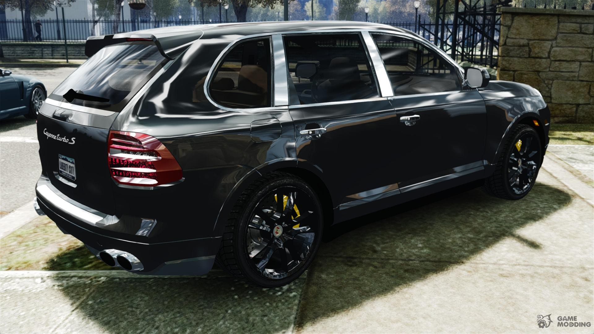 porsche cayenne turbo s 2009 for gta 4. Black Bedroom Furniture Sets. Home Design Ideas