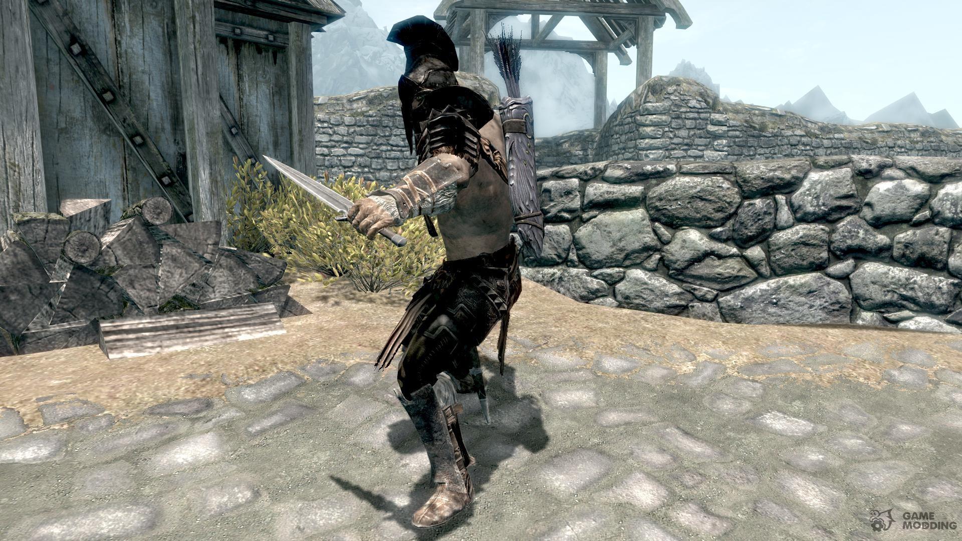 Мод гладиатор на скайрим скачать