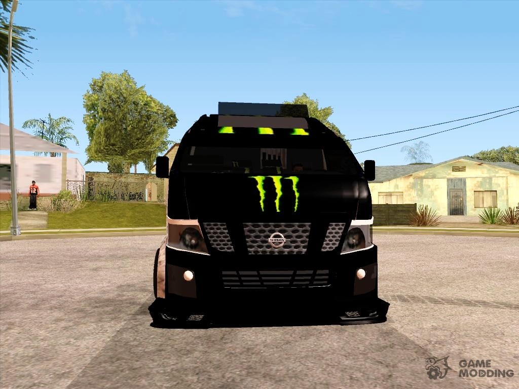 Nissan Urvan NV350 Monster Energy for GTA San Andreas