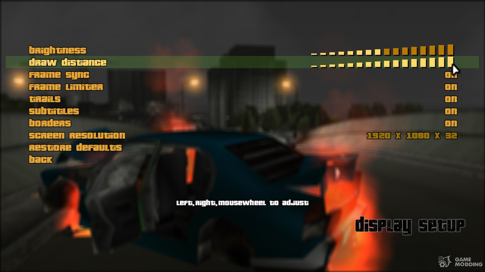 Widescreen Fix for GTA 3