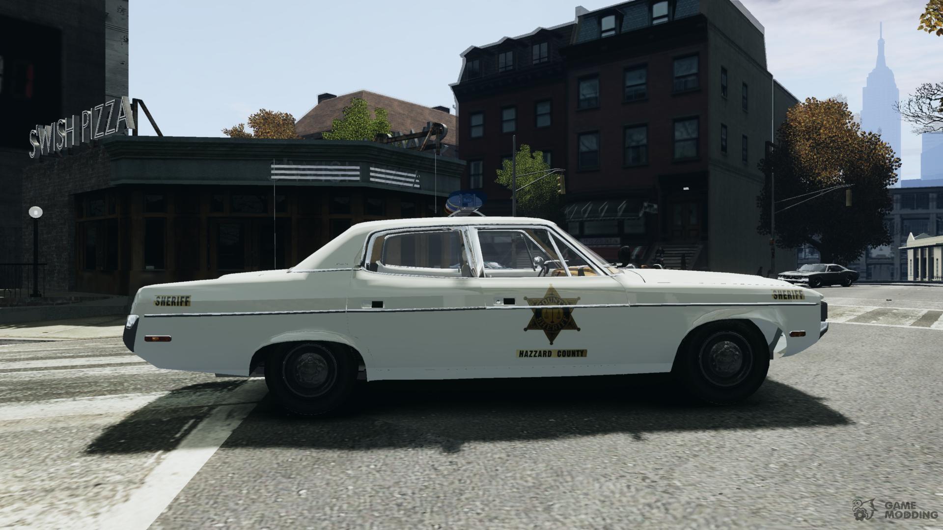 Matador Car: AMC Matador Hazzard County Sheriff For GTA 4