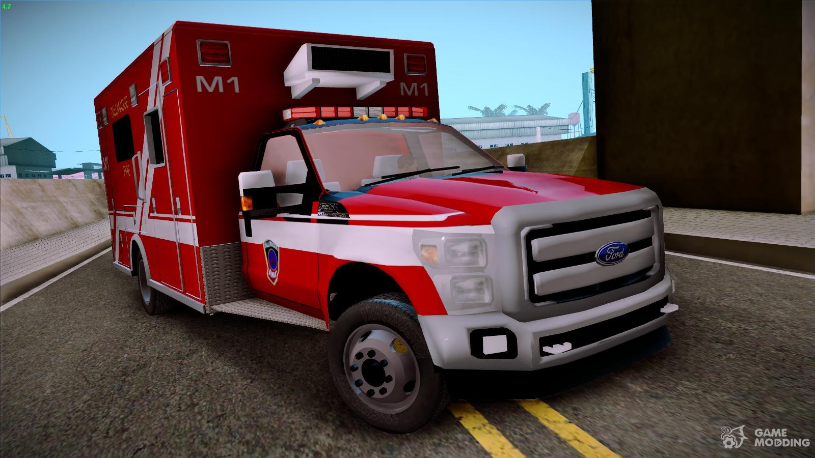 ambulance for gta san andreas. Black Bedroom Furniture Sets. Home Design Ideas
