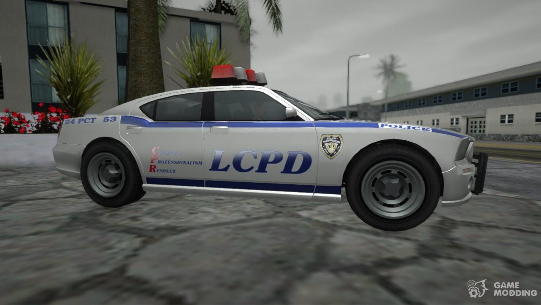 GTA 4 TBoGT Police Buffalo for GTA San Andreas