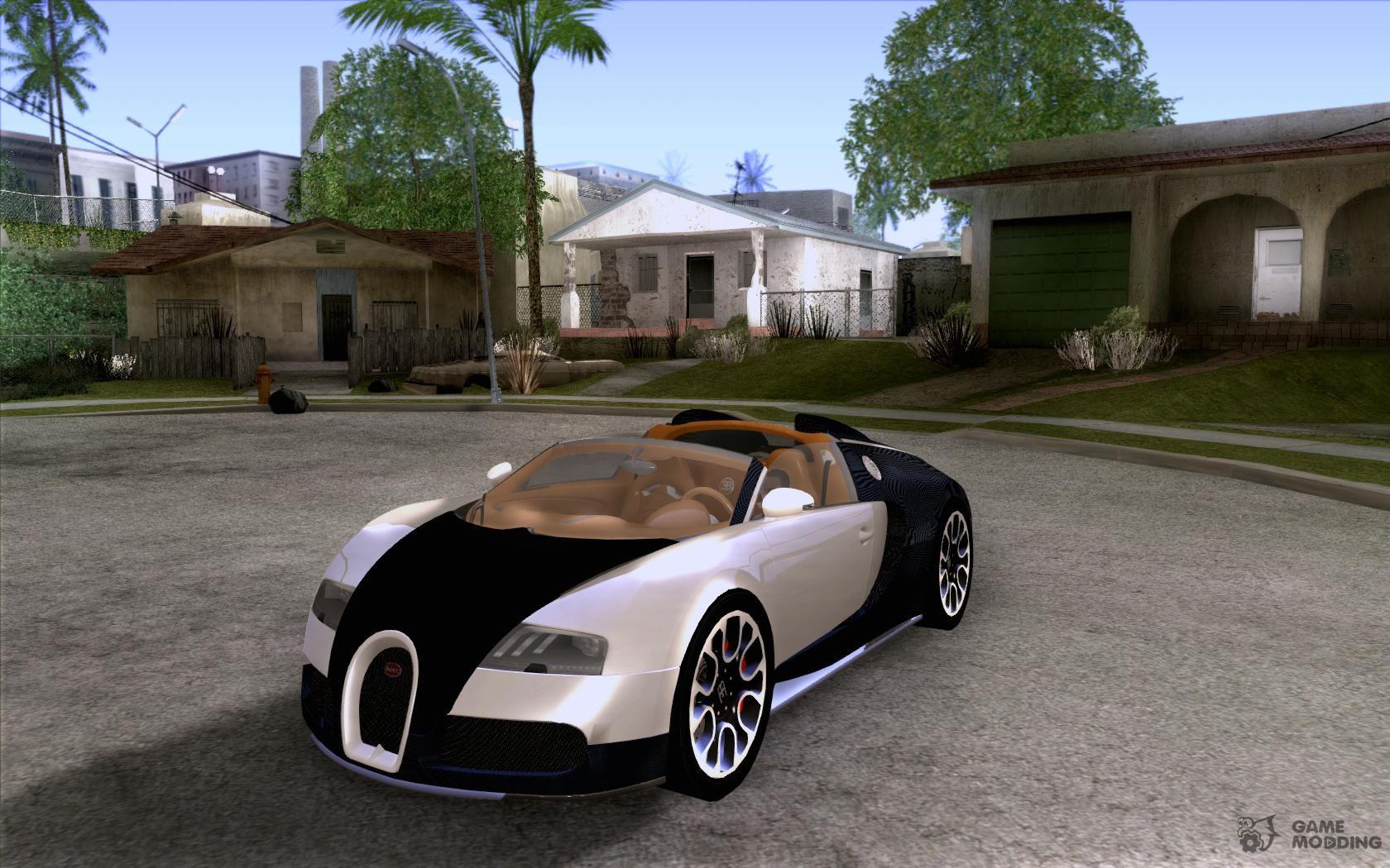 bugatti veyron 16 4 grand sport sang bleu for gta san andreas