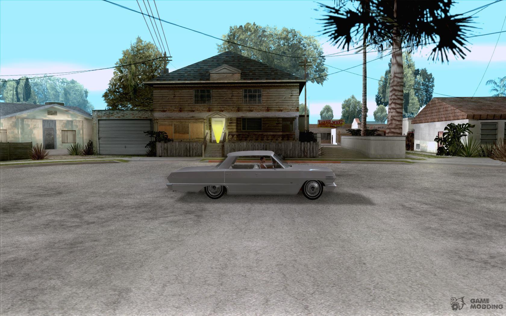 Chevrolet impala 4 door hardtop 1963 for gta san andreas - Chevrolet Impala 4 Door Hardtop 1963 For Gta San Andreas Inside View