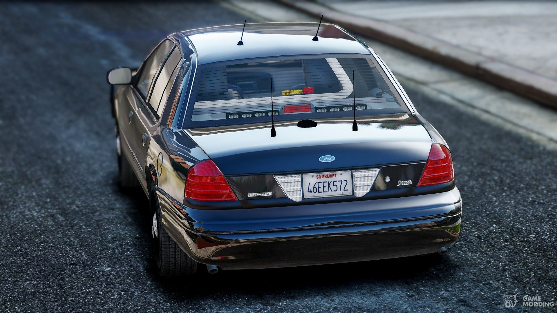 Ford Crown Victoria Unmarked   For Gta