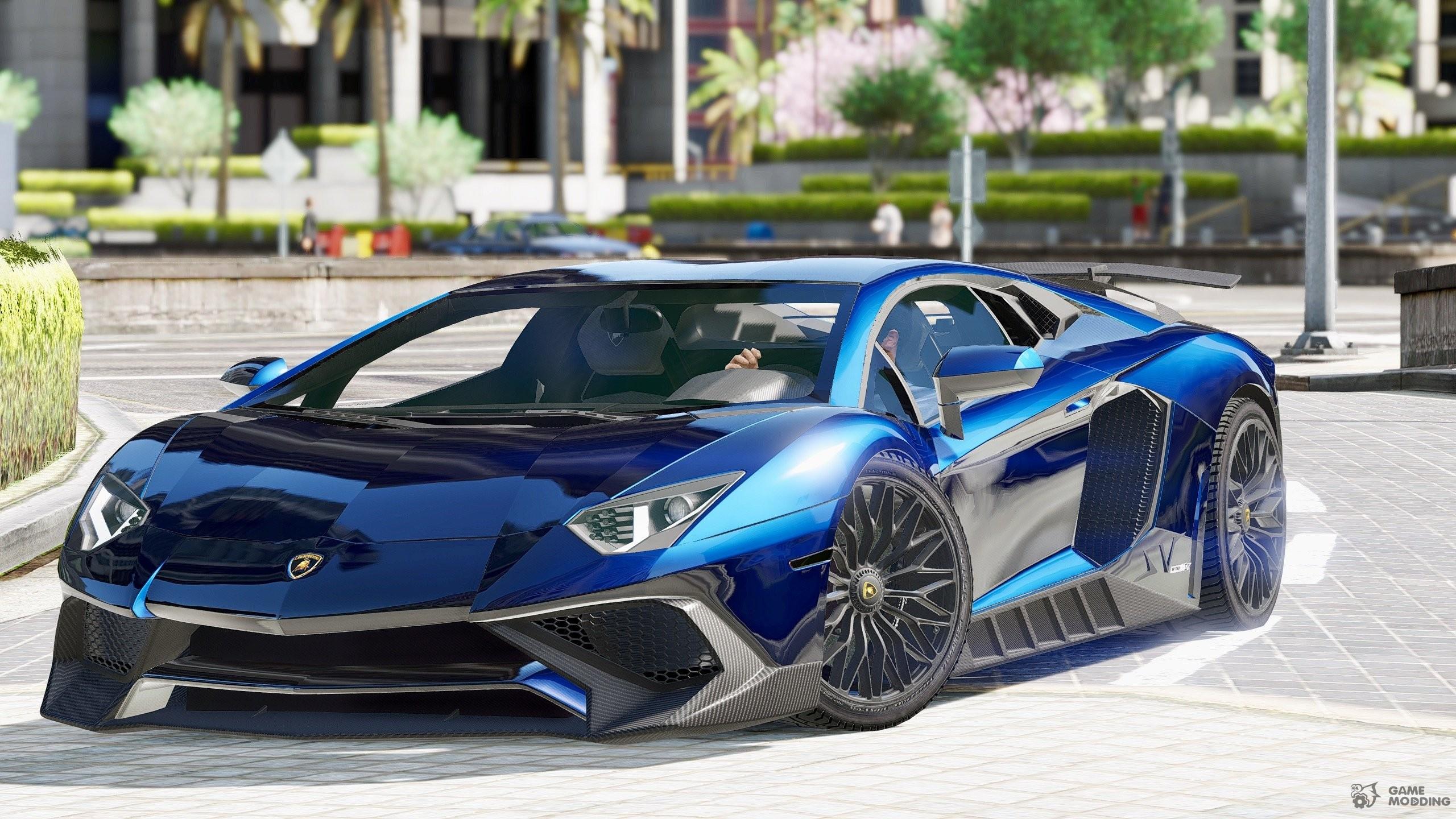 Lamborghini Aventador LP750-4 SV For GTA 5