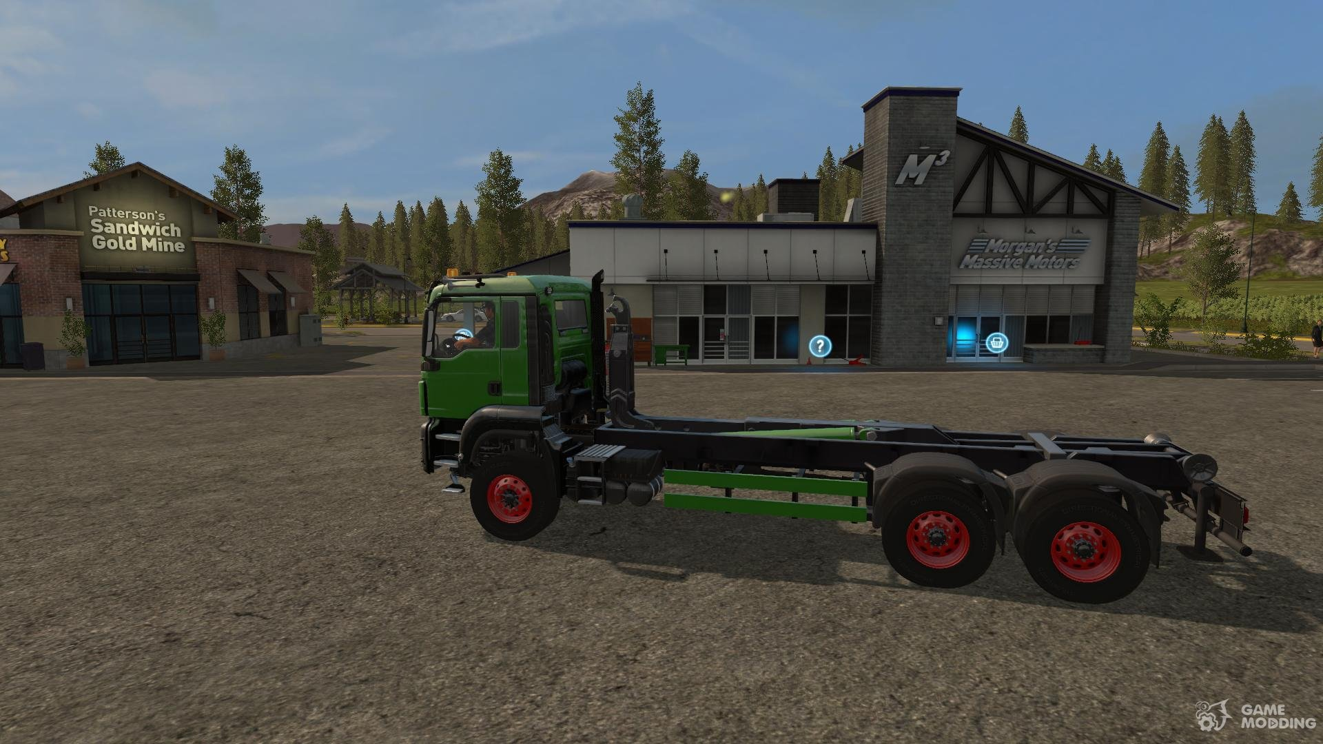 MAN TGS 6x6/8x8 with HVAC version 6 2 4 for Farming