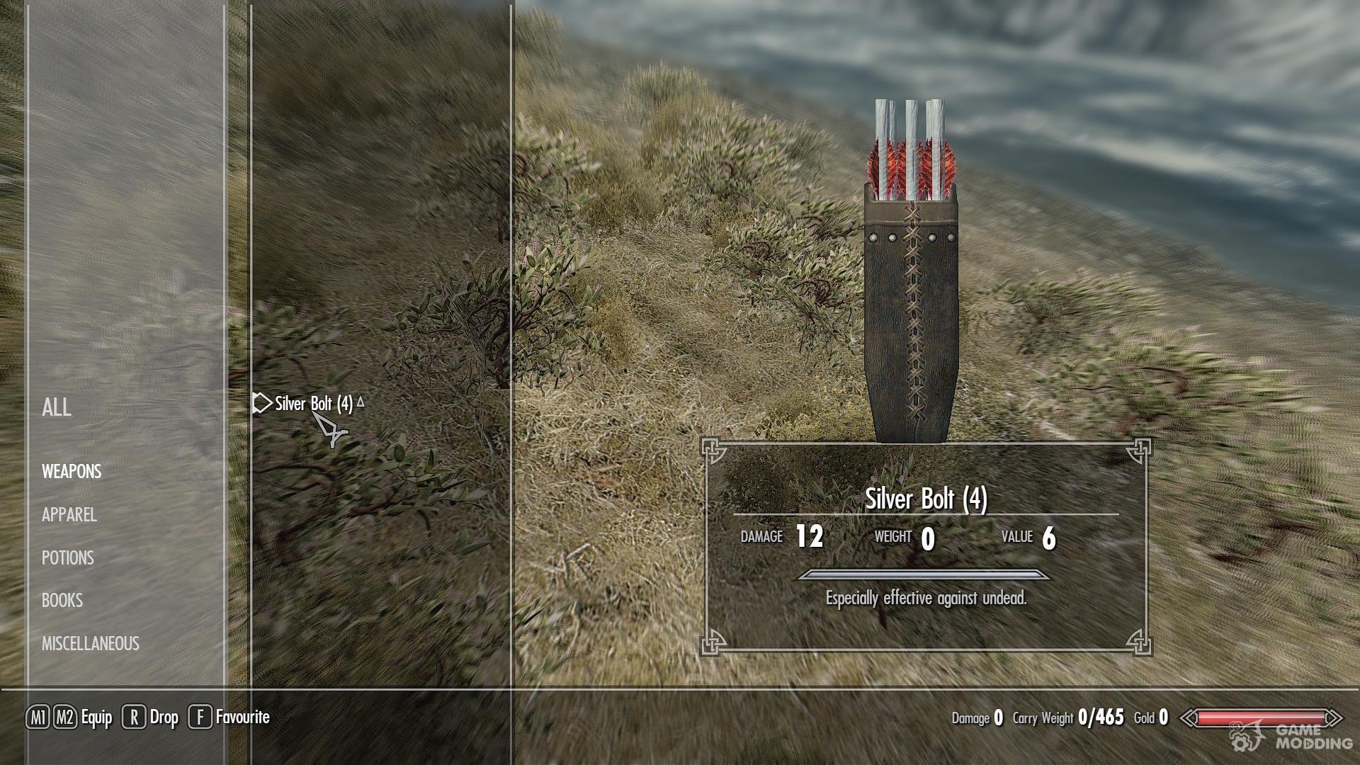 Skyrim Mod Craft Bolts