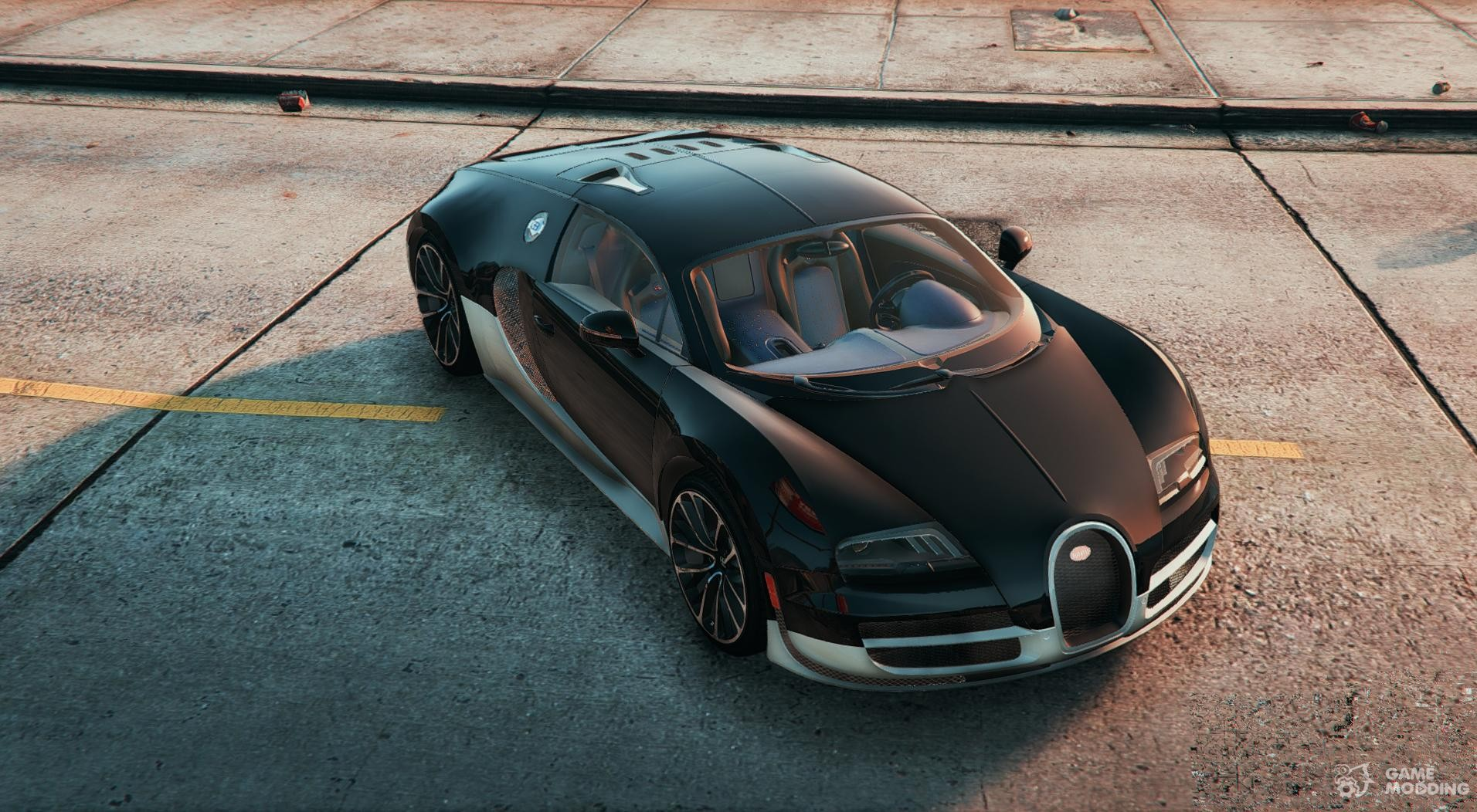 bugatti veyron super sport 2011 for gta 5. Black Bedroom Furniture Sets. Home Design Ideas