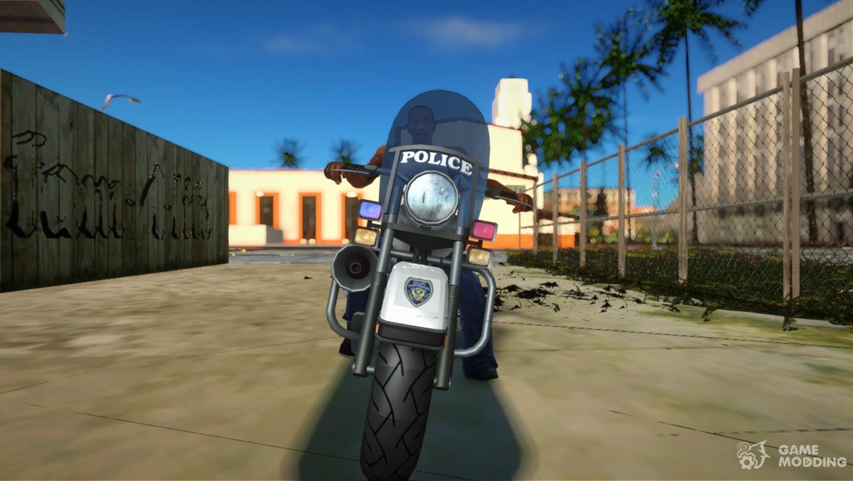 GTA 4 TBoGT Police Bike for GTA San Andreas