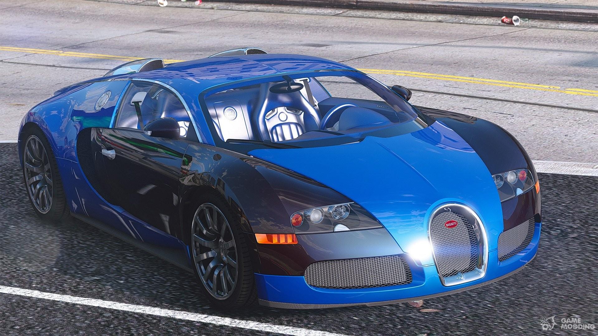Bugatti veyron exterior