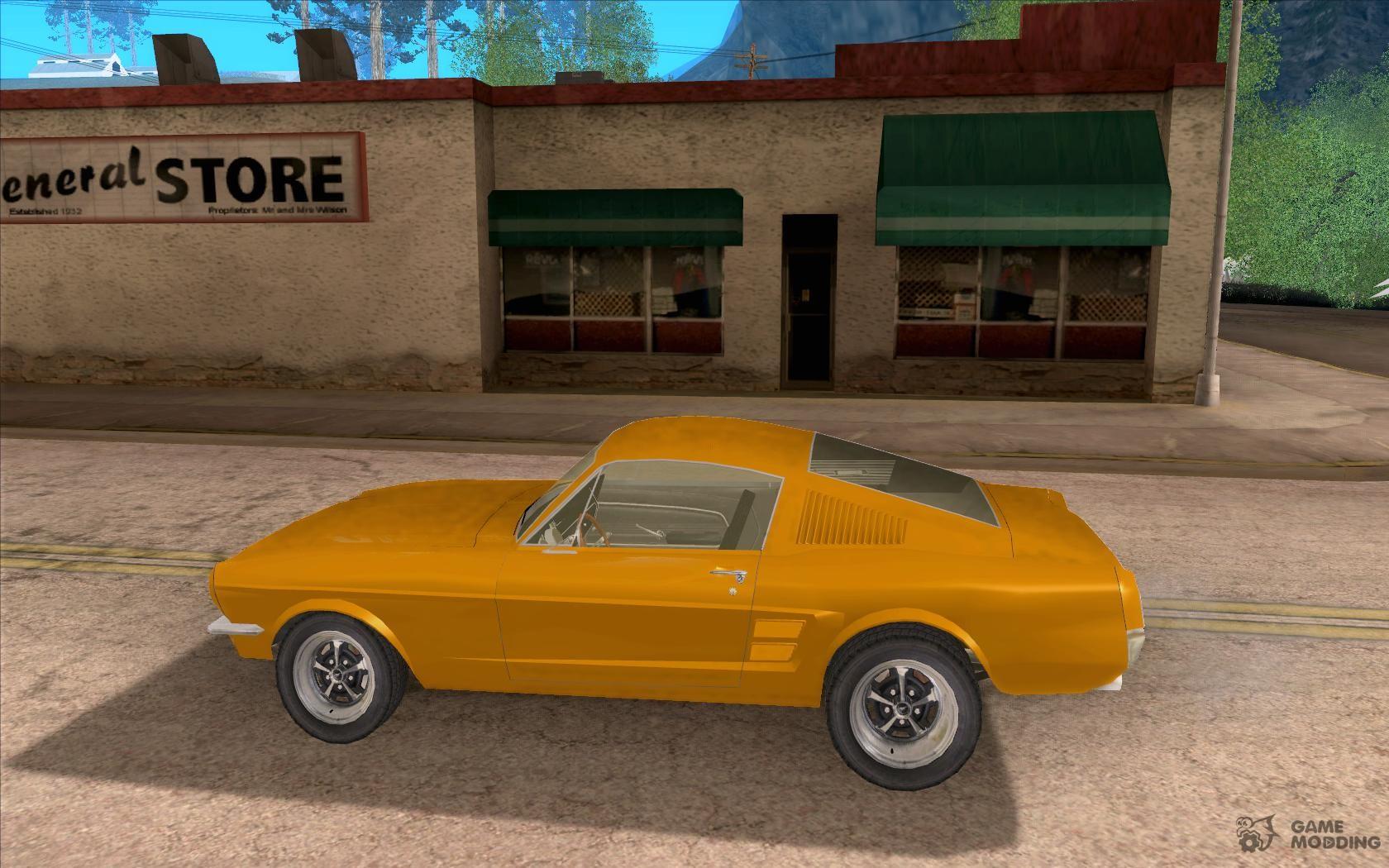 Mustang fastback 1967 for gta san andreas miniature 6 761