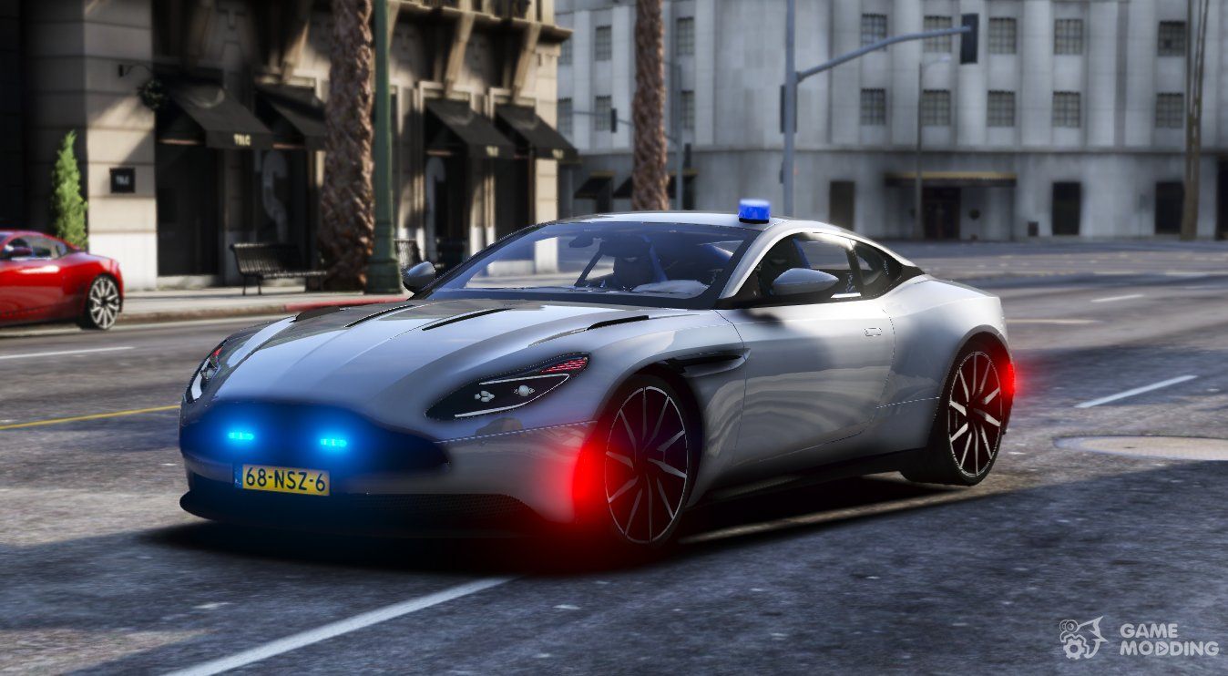 Aston Martin Db11 Police Unmarked Els For Gta 5