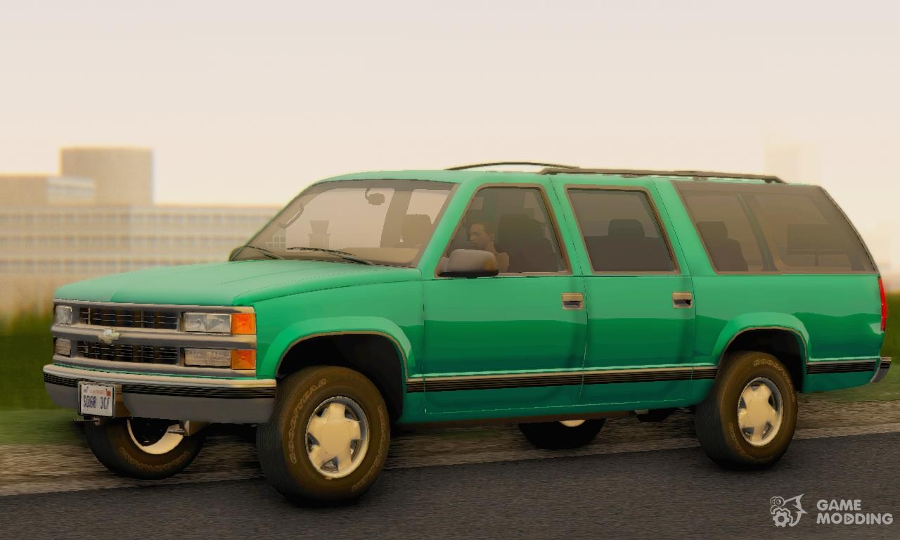 Chevrolet Suburban 1998 GMT400 for GTA San Andreas