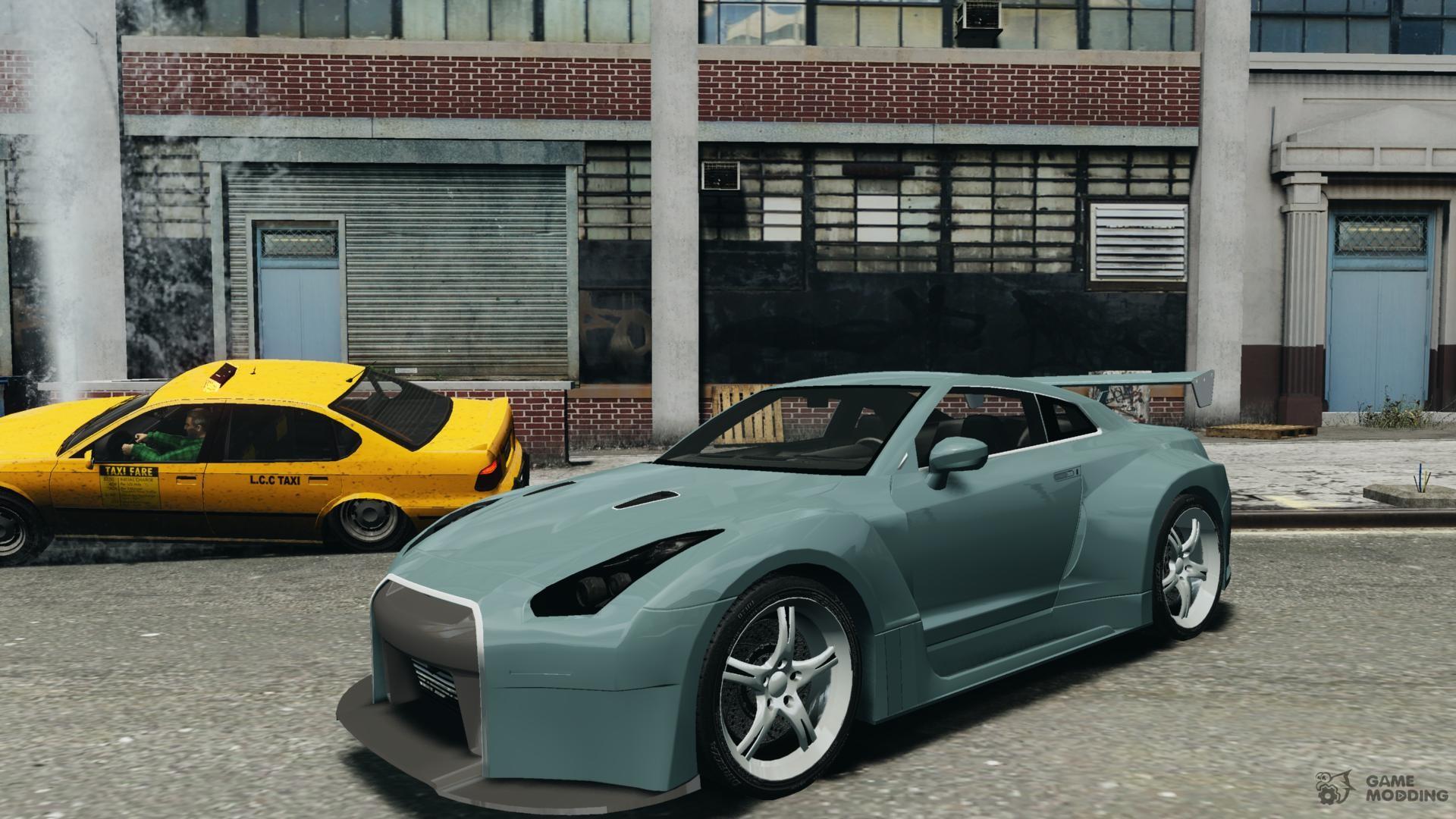 Nissan Skyline R35 GTR for GTA 4