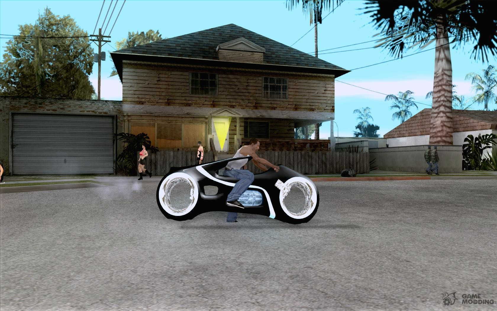 Tron legacy bike v. 2.0 for GTA San Andreas