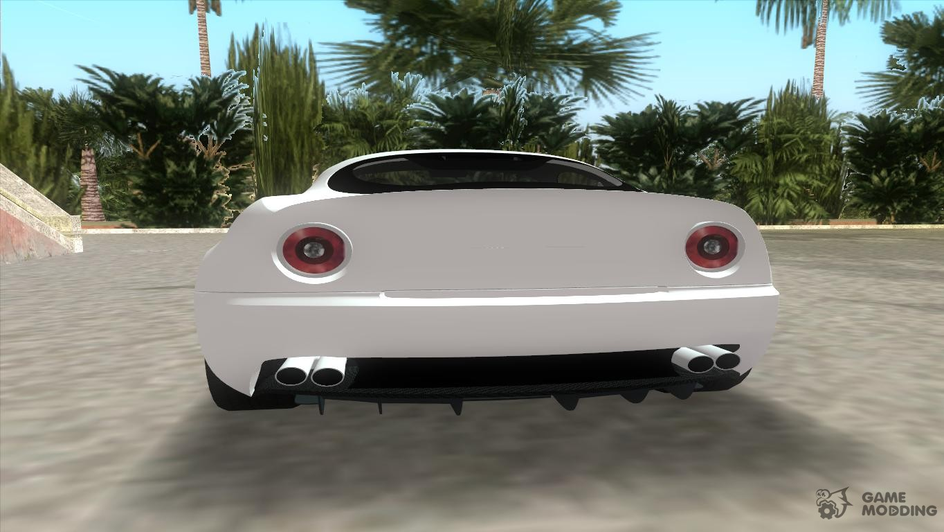Alfa Romeo 8c Competizione Tt Black Revel For Gta Vice City