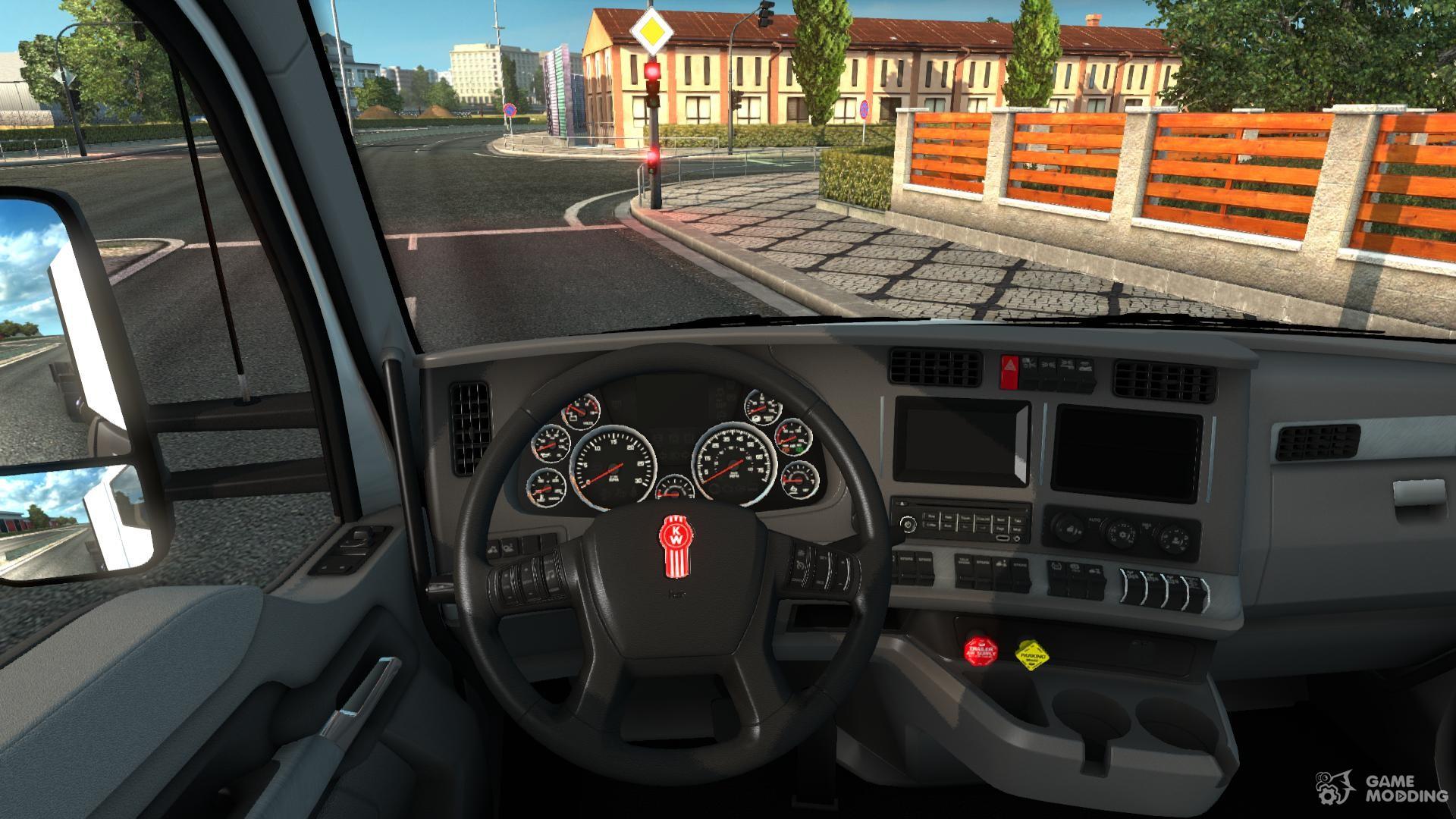 kenworth t680 dlc cabin for euro truck simulator 2. Black Bedroom Furniture Sets. Home Design Ideas