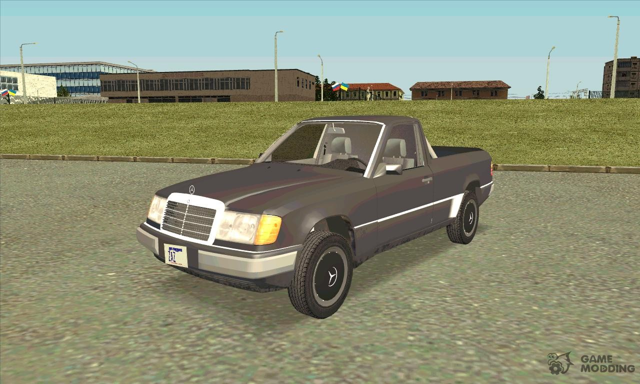 Mercedes benz w124 pickup for gta san andreas for Mercedes benz w124 parts