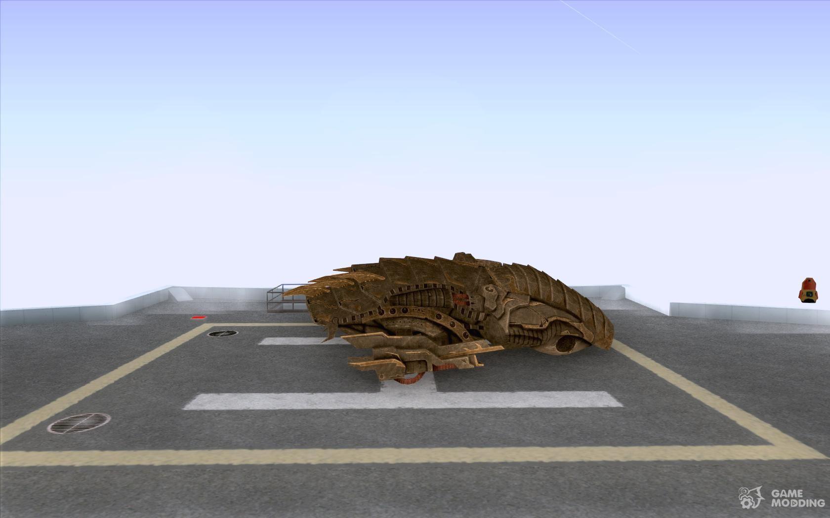 Starship from the game Aliens vs Predator Predator 3 for GTA