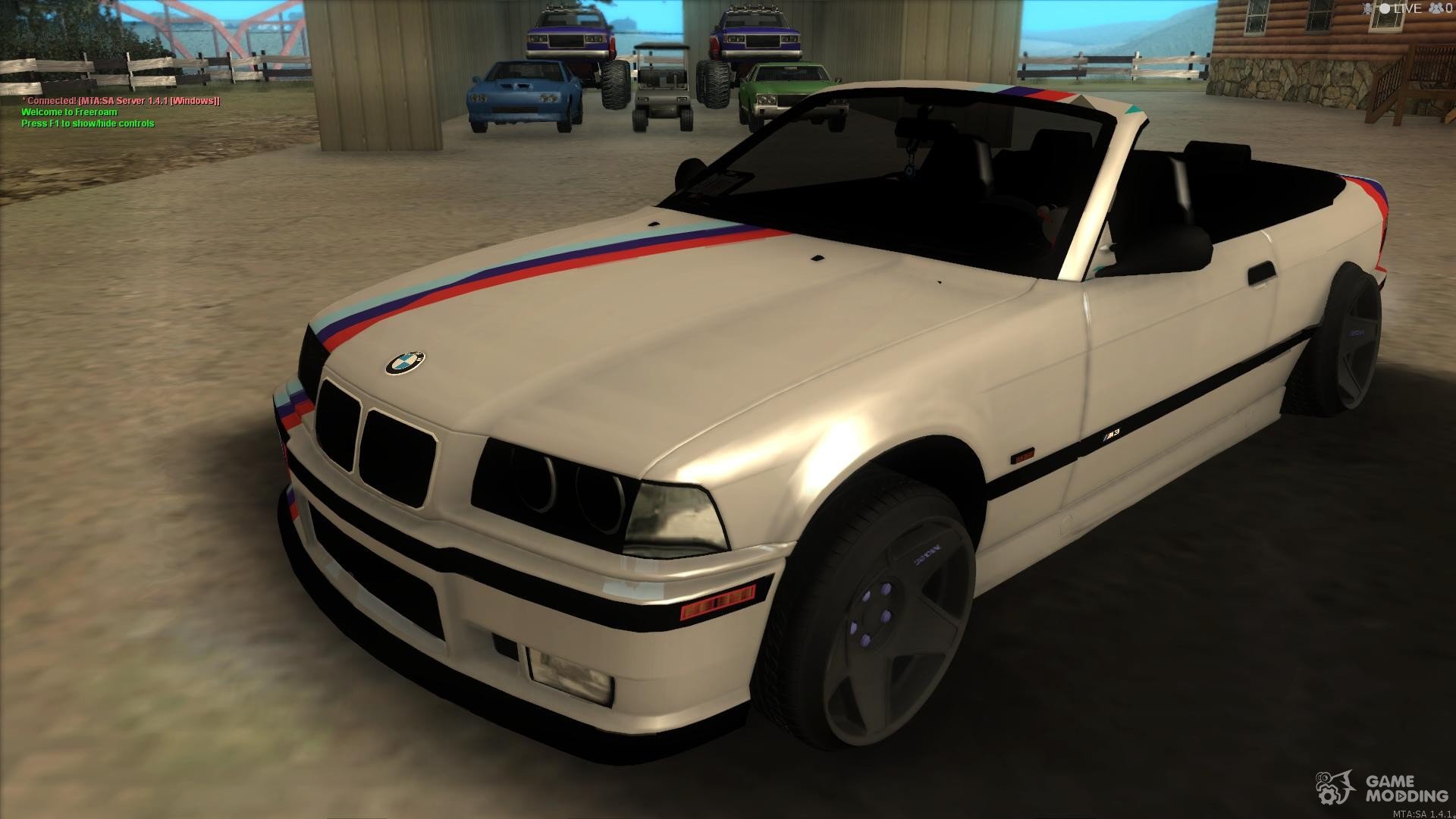 bmw m3 e36 cabrio for gta san andreas. Black Bedroom Furniture Sets. Home Design Ideas