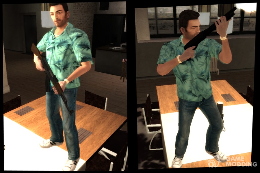 carl johnson vs tommy vercetti