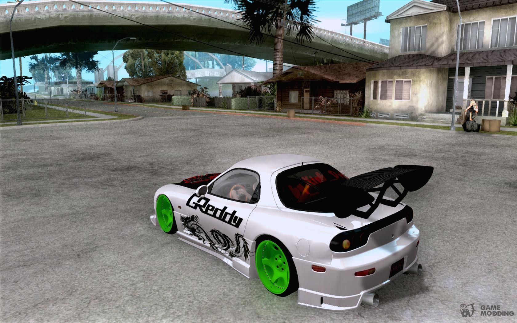 Mazda Rx Drift Version For Gta San Andreas