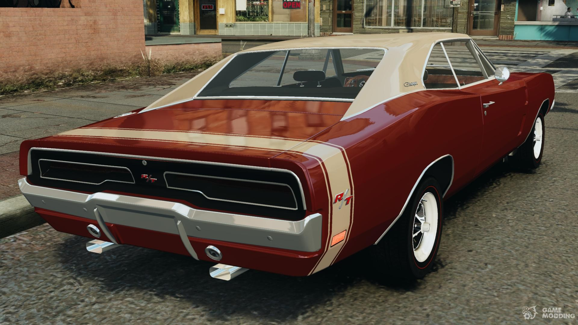 Dodge Charger Rt 1969 Stock Final Epm For Gta 4